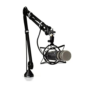 RODE PODCASTER PLUS PSM1 SHOCKMOUNT AND PSA1 SUSPENSION ARM DEAL