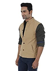Indian Terrain Men's Jackets (8907190128687_Brown_X-Large)