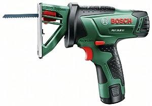 Bosch PST 10,8 LI HomeSeries Akkumultisäge + 1 Sägeblatt + Akku und Ladegerät + Koffer (10,8 V, max. Hubzahl 2000 1/min)  BaumarktKundenbewertung und weitere Informationen