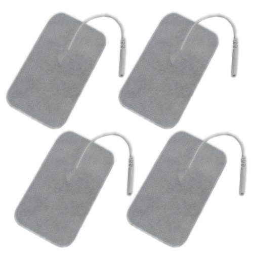 アクセルガード互換・EMS電極粘着パッド(LLサイズ/6.0cm×9.0cm/4枚入り)