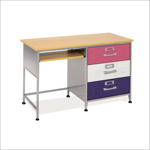 Desk American Furniture Alliance Locker 3 Drawer Desk