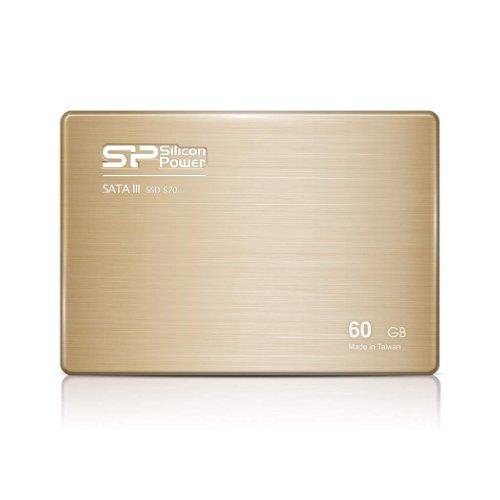 Slim S70 2.5インチSATAIII SSD 60GB MLC 7mm シリコンパワー SP060GBSS3S70S25