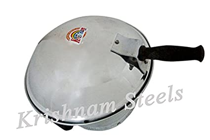 Krishnam-Steels-Aluminium-Oven-Toaster-Grill-(With-3-Cake-Pot)