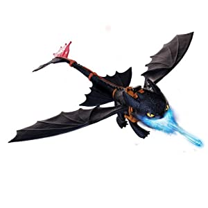 Spin Master 6019879 - DreamWorks Dragons - Nightstrike Toothless Deluxe