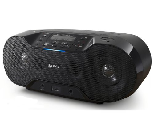 Sony Zs-Rs70Bt Portable Cd Player Fm Radio Wireless Bluetooth Boombox Home Stereo Speakers With Nfc