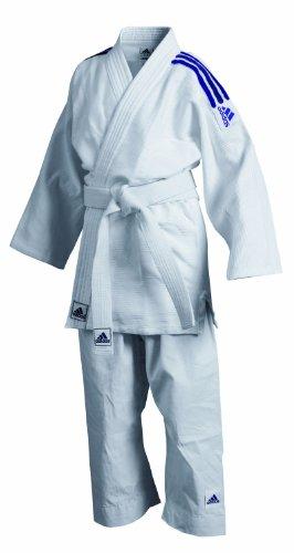 Adidas J350 Unisex Judo Uniform - White, 6/190 Cm