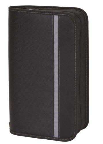 Case Logic ENW-104 104 Capacity Nylon CD Wallet (Black)