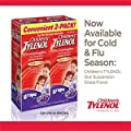 Children's Tylenol grape flavor ages 2-11 - 2 packs of 4.0 FL OZ
