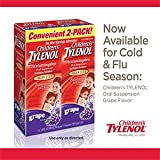 Childrens Tylenol grape flavor ages 2-11 - 2 packs of 3.38 FL OZ