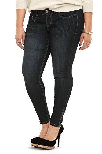 Torrid Ankle Zip Stiletto Jean - Dark Wash (Regular)