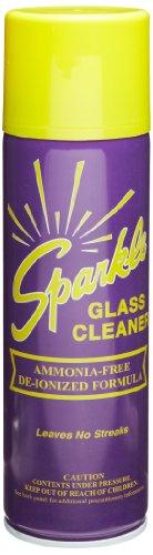 A J Funk & Co 20620 Sparkle Glass Cleaner, Original Purple Formula, 20-Ounce Aerosol Can (Case Of 12)