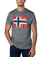 Geographical Norway Camiseta Manga Corta Snht (Antracita)