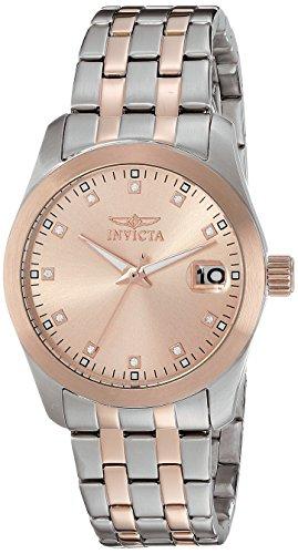 Invicta Women's 21494 Wildflower Analog Display Japanese Quartz Two Tone Watch