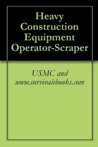 Heavy Construction Equipment Operator-Scraper