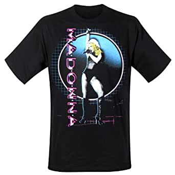 Madonna - T-Shirt Stage Circle (in L)