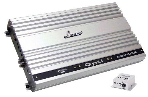 Lanzar Opti250X2 Optidrive 1000 Watt 2 Channel Competition Class Mosfet Amplifier
