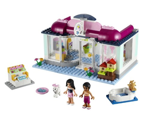 LEGO® Friends Girls Heartlake Animal Pet Salon w/ Two Minifigures | 41007 (Lego Friends Adventure Camper compare prices)