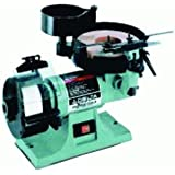 DELTA 23-710 1/5-Horsepower Wet/Dry Sharpening Center with 8-Inch Horizontal Wet Wheel and 5-Inch Vertical Dry Wheel ~ Delta