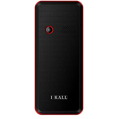 I Kall K66 1.8 inch Dual Sim Mobile (Black & Red)