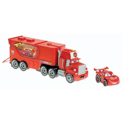 Lightning Mcqueen Mack Truck Hauler : Not found
