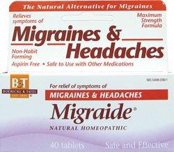 Boericke & Tafel Migraide -- 40 Tablets