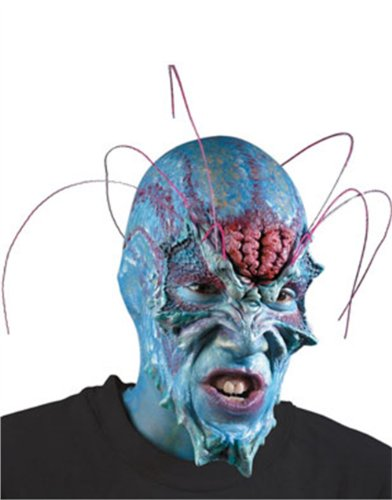 Blue Alien Latex Prosthetics Appliance Kit Makeup Mask
