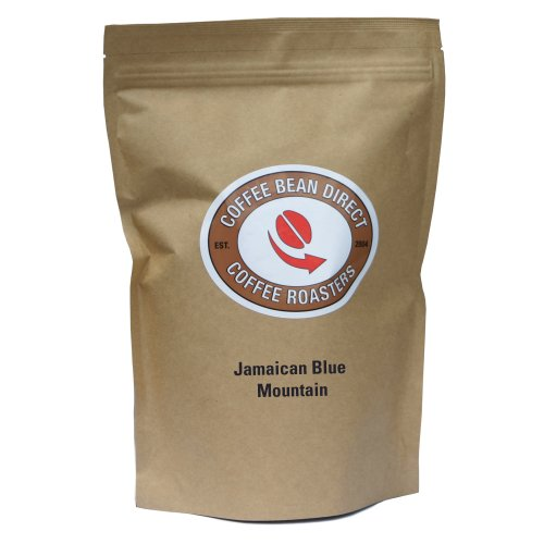 Coffee Bean Direct Jamaican Blue Mountain, Whole Bean Coffee, 16-Ounce Bag