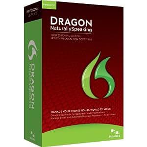 Dragon NaturallySpeaking Professional 12 (Old Version)