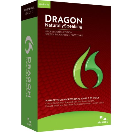 Dragon NaturallySpeaking Professional 12, English