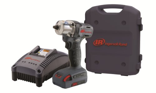 Ingersoll Rand W5130-K1 3/8-Inch Mid-Torque Impactool Kit With Charger, Li-Ion Battery And Case