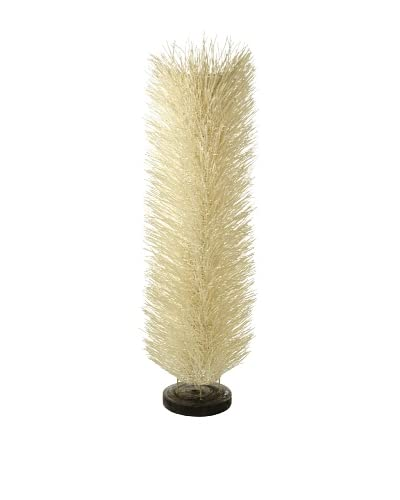 Foreign Affairs Floor Standing Lamp Urchin, Large, White As You See