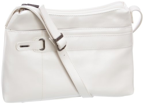 Jane Shilton Finsbury Flapover Ivory Bag 