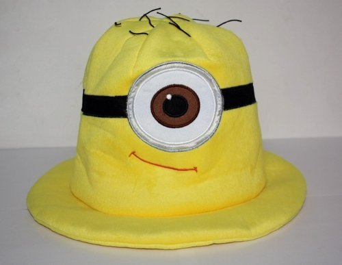 Despicable Me Minion One Eye Stuart / Stewart Funny Soft Plush Cosplay Hat