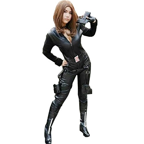 Harry Shops Black Widow2 Cosplay Costume Holiday Halloween-Medium (Black Widow Cosplay Costume)
