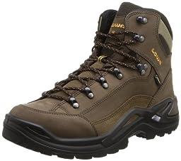 Lowa Men\'s Renegade GTX Mid Hiking Boot,Sepia/Sepia,8.5 M US