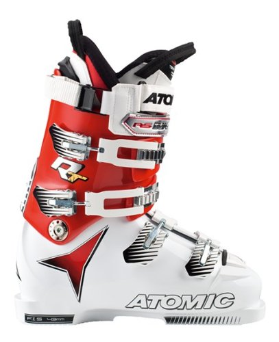 Scarponi da sci ATOMIC RT CS 130 Whi/Red, Unisex, ASPHALT/BLACK/BRIGHT RED