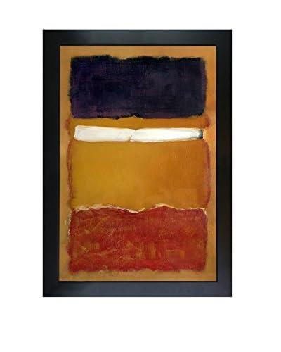 "Mark Rothko ""No. 24 (Untitled), 1951"" Framed Oil Reproduction"