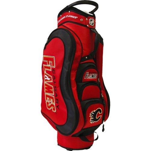 Calgary flames golf bag
