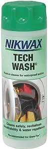 Nikwax 300100000 Tech Wash Produit lavant pour vêtement cycliste 300 ml