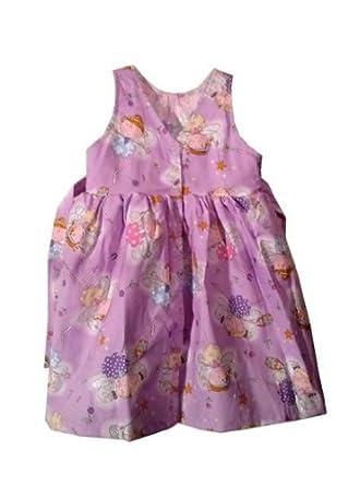 Girls Reversible Jumper Dress-Medium- Fairy/Dragonfly