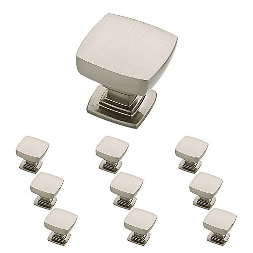 Franklin Brass P29542K-SN-B Satin Nickel 1-1/8-Inch Webber Kitchen Cabinet Hardware Knob, 10 pack (Door Knobs Kitchen Cabinets compare prices)