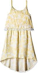 Pumpkin Patch Girls' Dress (S5GL80019_Clean White_7)