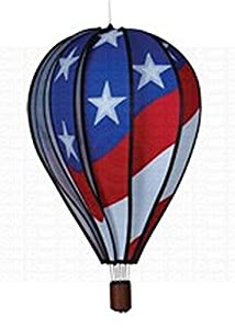 "Premier Kites 22"" Hot Air Balloon, Patriotic PMR25778"
