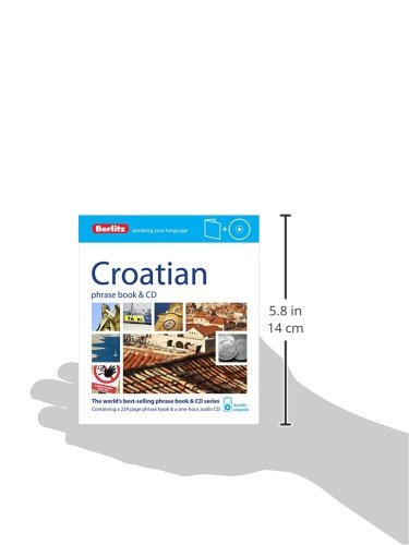 Berlitz Language: Croatian Phrase Book & CD (Berlitz Phrase Book & CD)