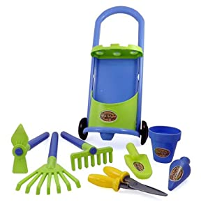 Garden cart gardening tools for kids with for Gardening tools 94 game