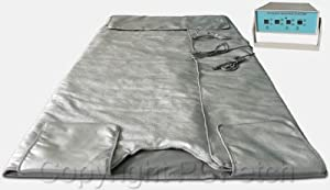 Far Infrared Sauna Blanket with 3 Zone Digital Controller by Decorate With Daria