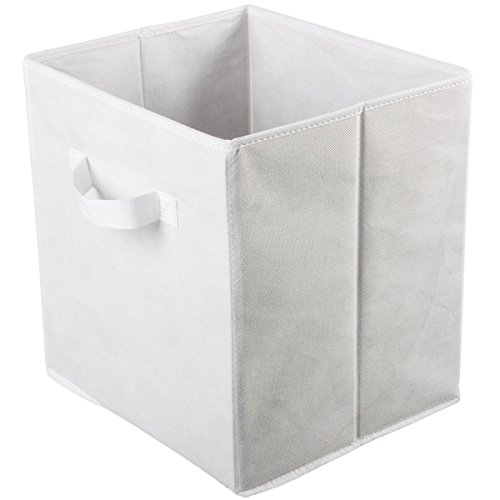 2-large-foldable-fabric-storage-bins-cubes-home-organization-organizer-baskets-color-white