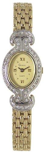 Geneve 14K Gold Diamond Womens Watch W060110