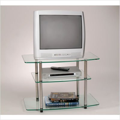 Cheap Convenience Concepts Classic Glass TV Stand (157004) (B008A1MWVG)
