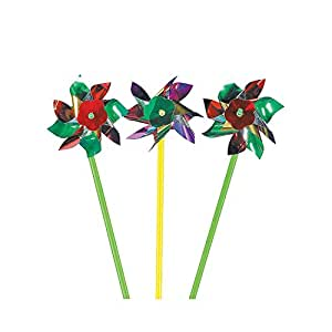 Unknown METALLIC PINWHEELS BULK